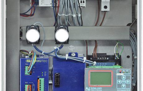 Ortsnetzstation Fernwirkbox mit Micro und USV